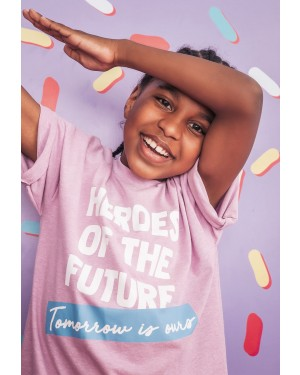 T-SHIRT ESTAMPADA HEROES OF THE FUTURE